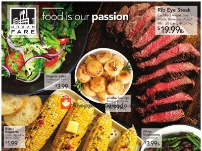 Urban Fare Outdated Flyer Thumbnail