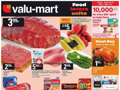 Valu-Mart Outdated Flyer Thumbnail