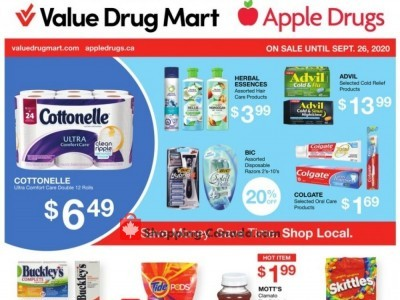 Value Drug Mart Outdated Flyer Thumbnail