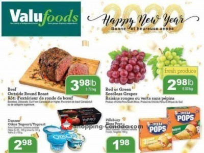 Valufoods Outdated Flyer Thumbnail