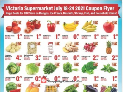 Victoria Supermarket Outdated Flyer Thumbnail