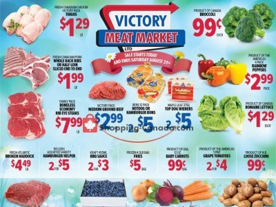 Victory Meat Market  Outdated Flyer Thumbnail