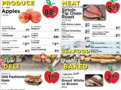 Village Food Market Flyer Thumbnail