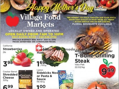 Village Food Market Outdated Flyer Thumbnail