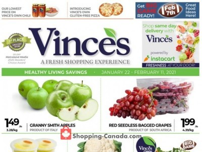 Vince's Market Flyer Thumbnail