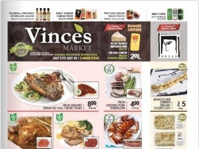 Vince's Market Outdated Flyer Thumbnail