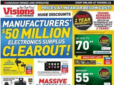 Visions Electronics Flyer Thumbnail