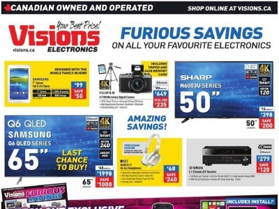 Visions Electronics Outdated Flyer Thumbnail