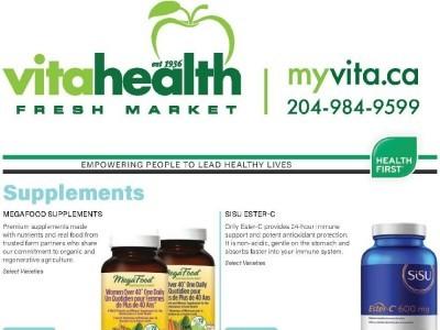 Vita Health Fresh Market Flyer Thumbnail
