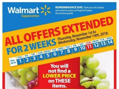 Walmart Outdated Flyer Thumbnail