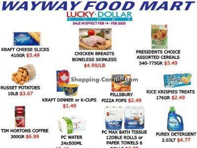 WayWay Food Mart Flyer Thumbnail