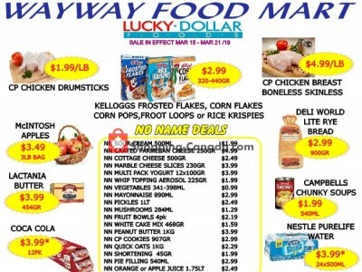 WayWay Food Mart Outdated Flyer Thumbnail