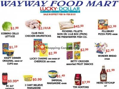 WayWay Food Mart Flyer Thumbnail