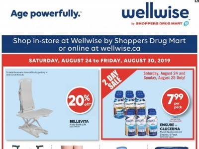 WellWise by Shoppers Drug Mart Flyers, Weekly ads in Canada