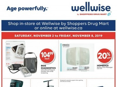 WellWise by Shoppers Drug Mart Outdated Flyer Thumbnail