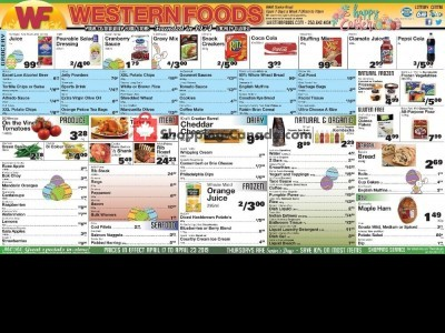 Western Foods Outdated Flyer Thumbnail