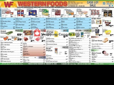 Western Foods Flyer Thumbnail