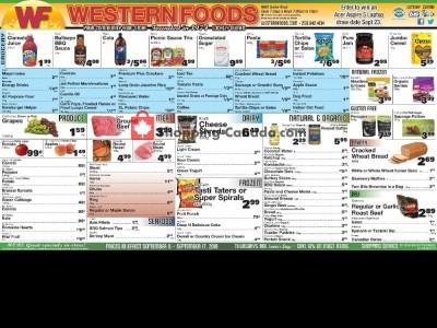 Western Foods Flyer Thumbnail