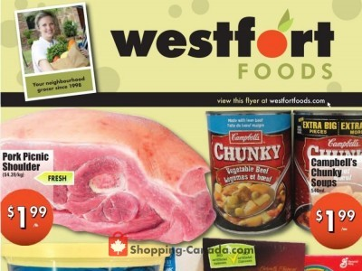 Westfort Foods Flyer Thumbnail