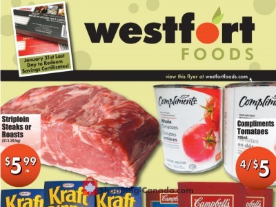 Westfort Foods Outdated Flyer Thumbnail