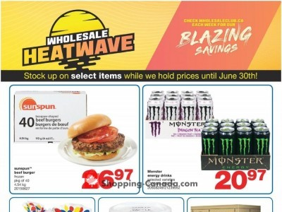 Wholesale Club Flyer Thumbnail