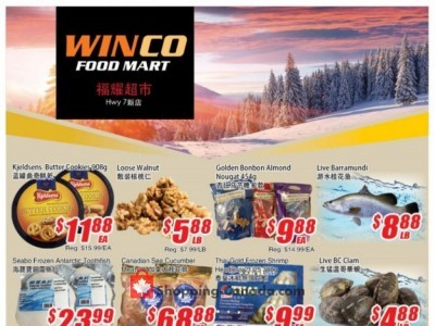 WinCo Food Mart Flyer Thumbnail
