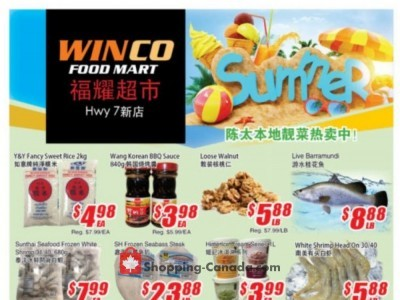 WinCo Food Mart Outdated Flyer Thumbnail