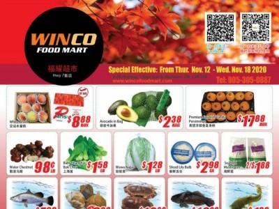WinCo Food Mart Flyer Thumbnail