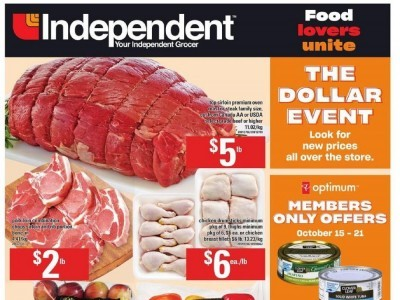 Your Independent Grocer Flyer Thumbnail