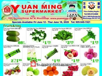 Yuan Ming Supermarket Flyer Thumbnail