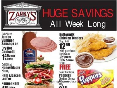 Zarky's Flyer Thumbnail
