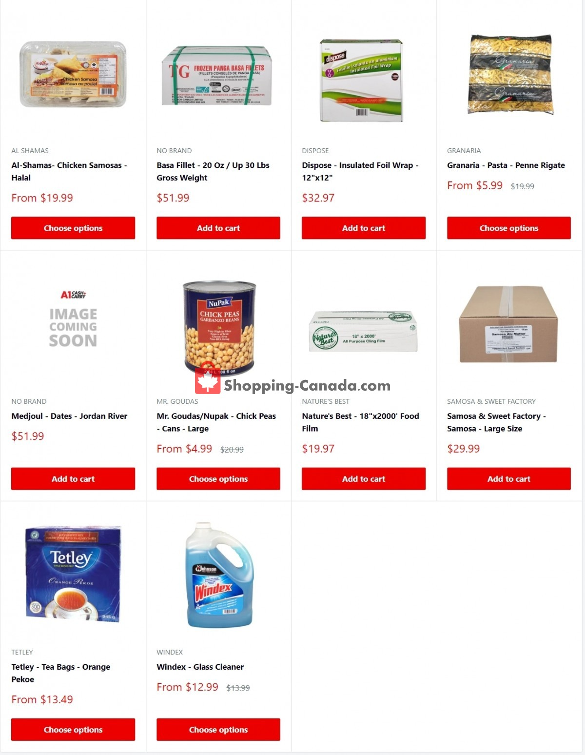 Flyer A1 Cash And Carry Canada - from Thursday April 1, 2021 to Friday April 30, 2021