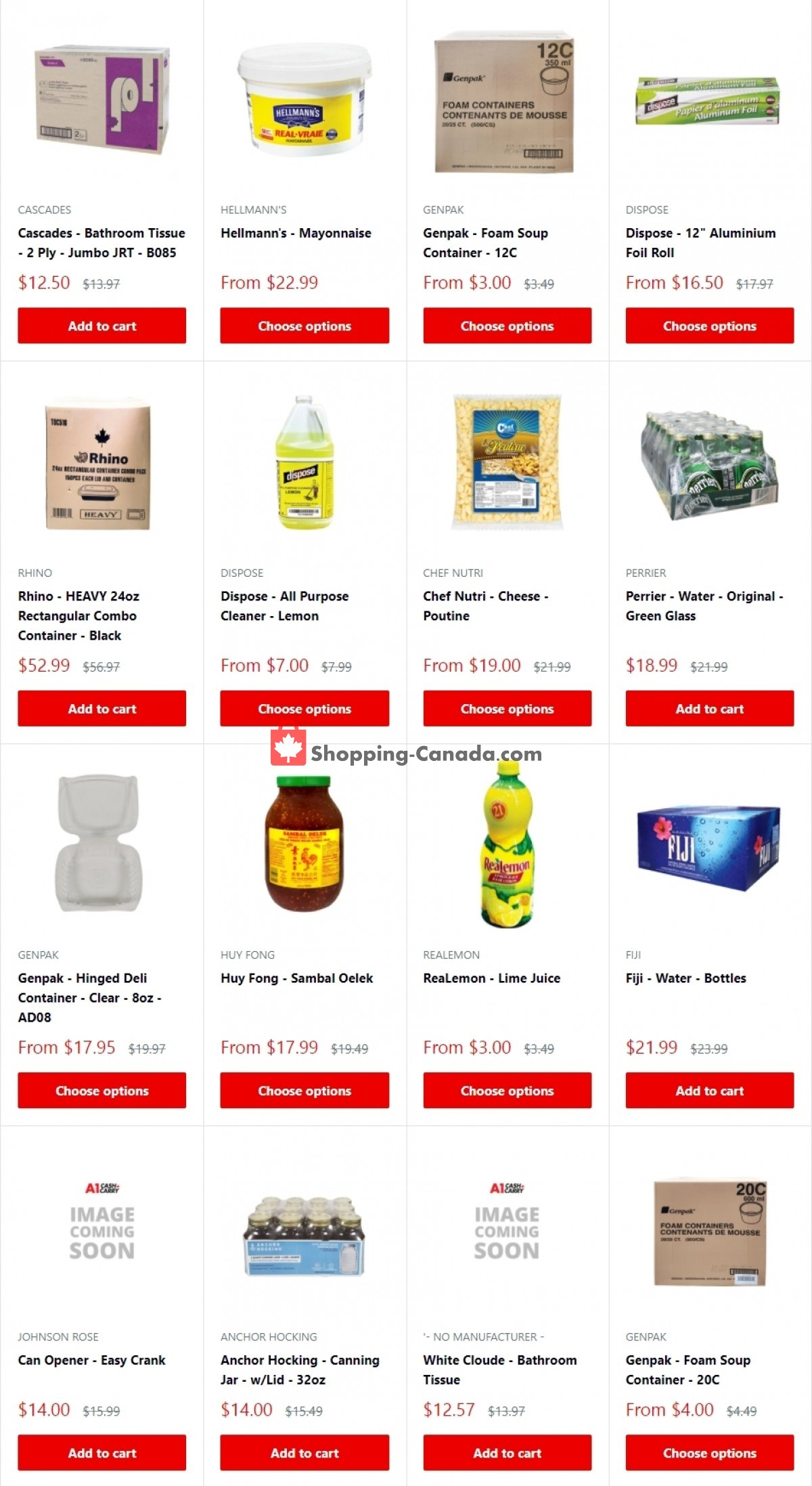 Flyer A1 Cash And Carry Canada - from Friday October 1, 2021 to Sunday October 31, 2021
