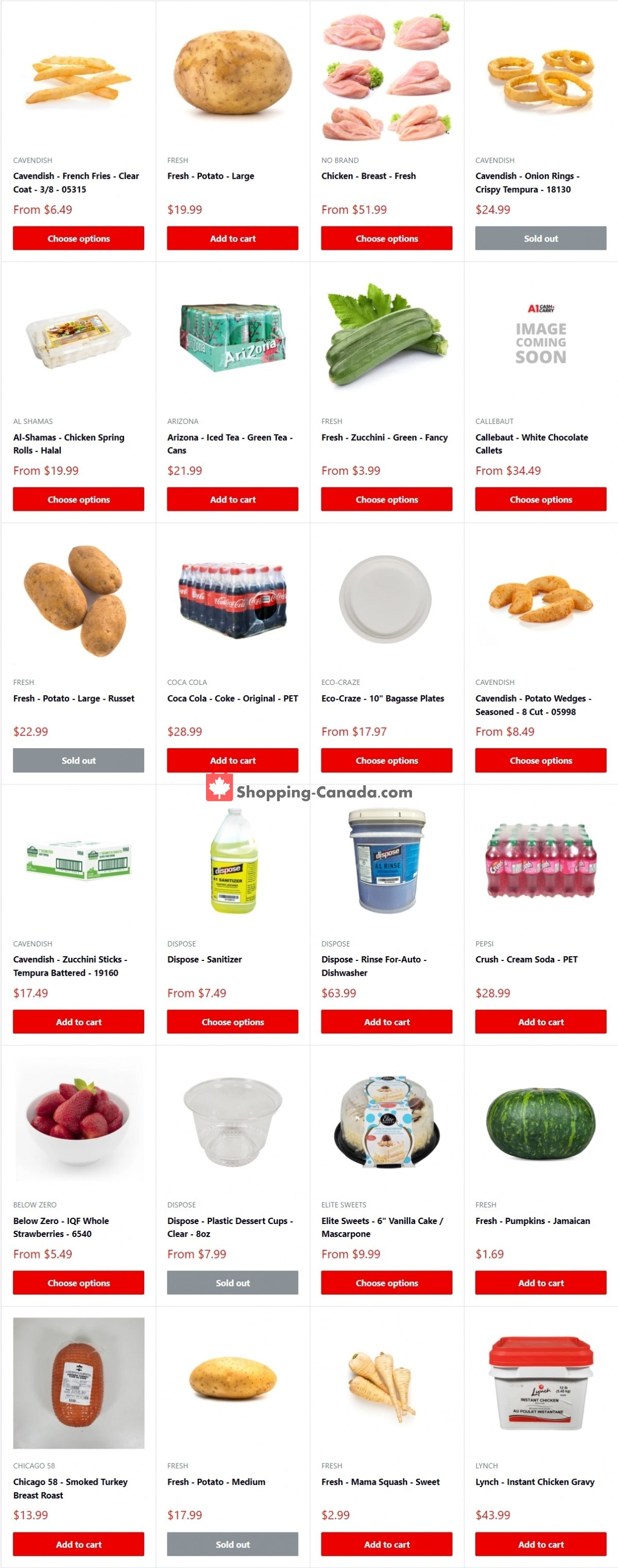 Flyer A1 Cash And Carry Canada - from Monday October 4, 2021 to Sunday October 10, 2021