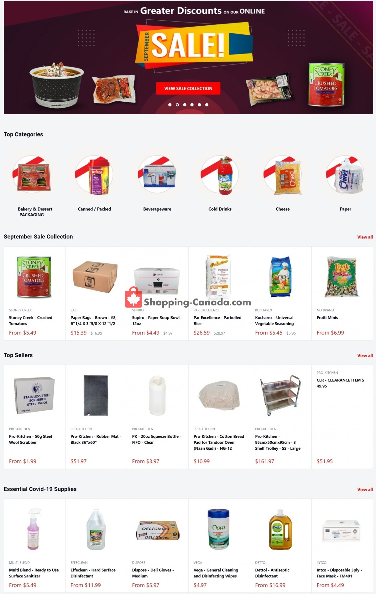 Flyer A1 Cash And Carry Canada - from Tuesday September 14, 2021 to Thursday September 30, 2021