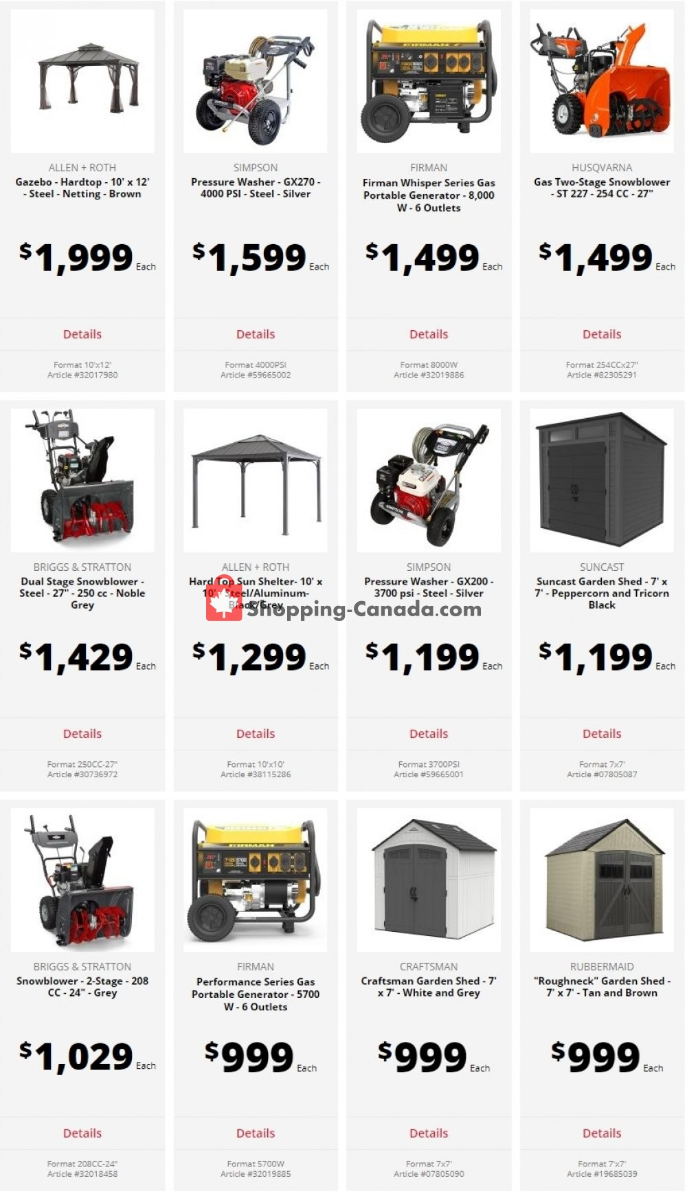 Flyer Ace Hardware Canada - from Tuesday August 4, 2020 to Monday August 10, 2020