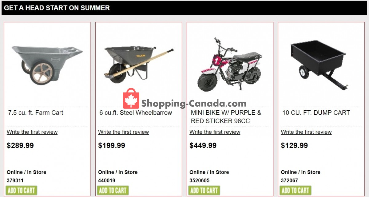 Flyer Ace Hardware Canada - from Sunday July 11, 2021 to Saturday July 17, 2021