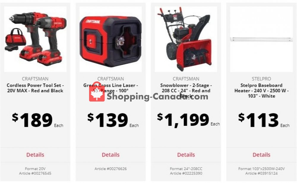 Flyer Ace Hardware Canada - from Tuesday July 7, 2020 to Monday July 20, 2020