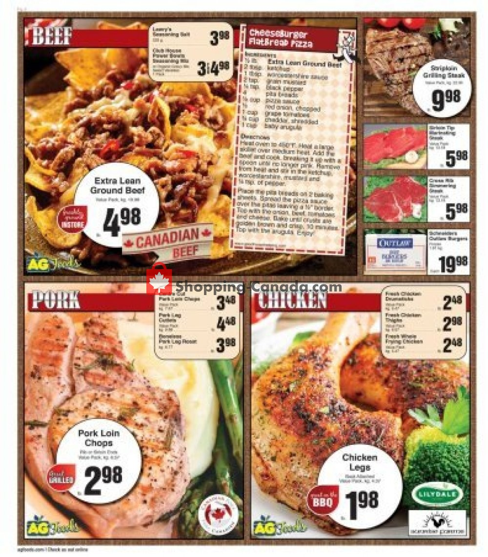 Flyer AG Foods Canada - from Sunday September 8, 2019 to Saturday September 14, 2019