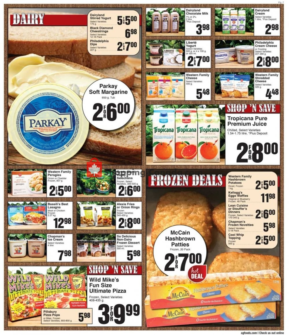 Flyer AG Foods Canada - from Friday January 10, 2020 to Thursday January 16, 2020