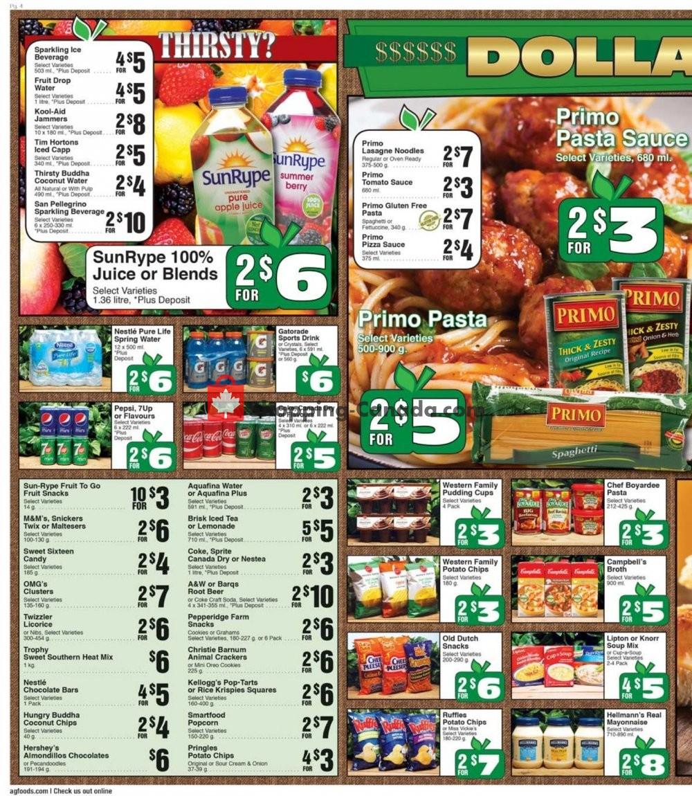Flyer AG Foods Canada - from Friday November 8, 2019 to Thursday November 14, 2019