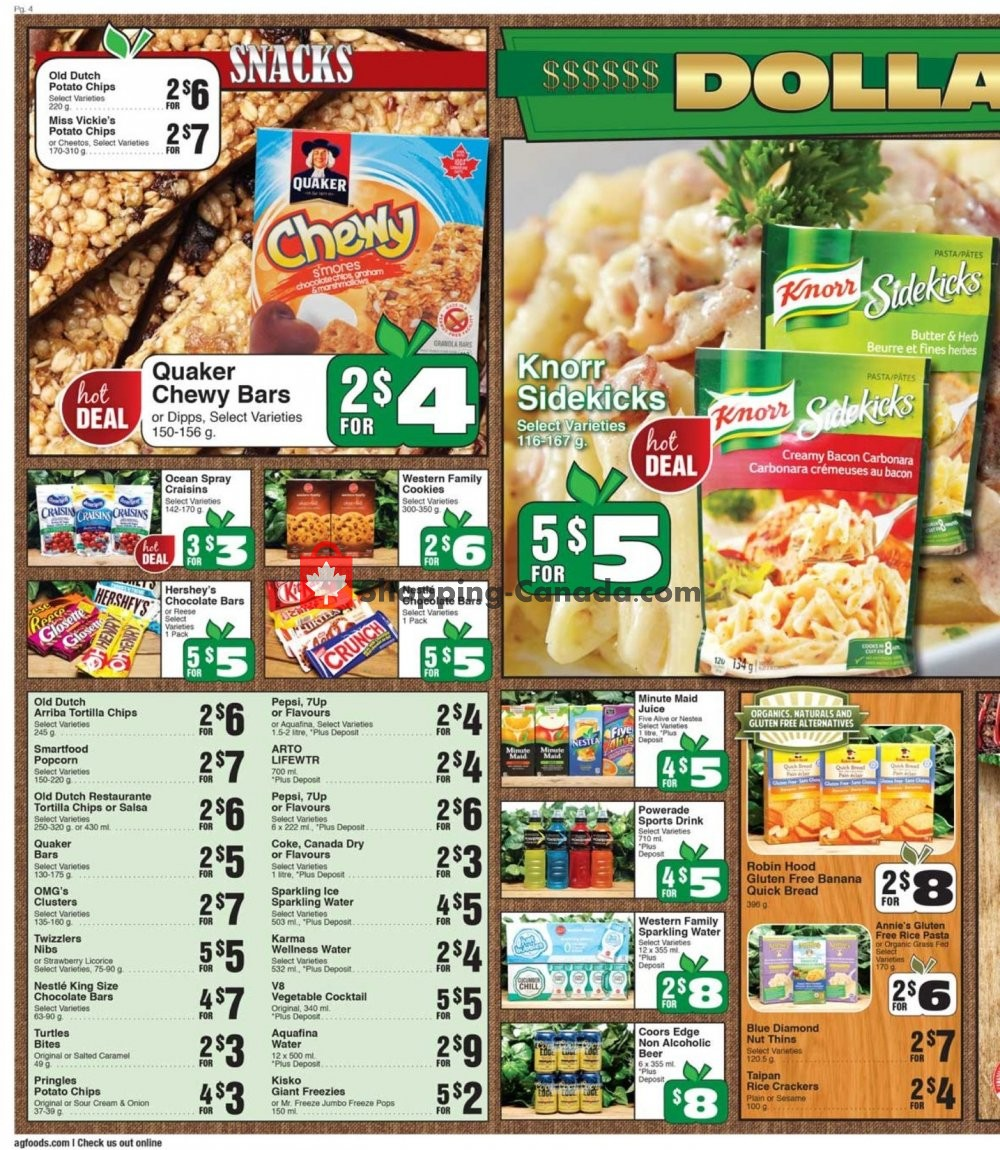Flyer AG Foods Canada - from Friday July 12, 2019 to Thursday July 18, 2019