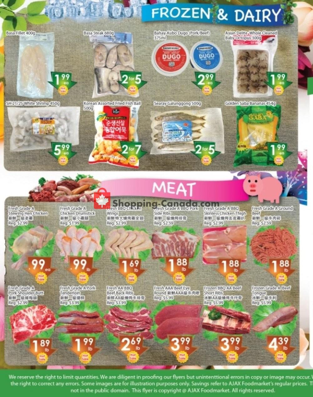 Flyer Ajax Foodmart Canada - from Friday September 21, 2018 to Thursday September 27, 2018