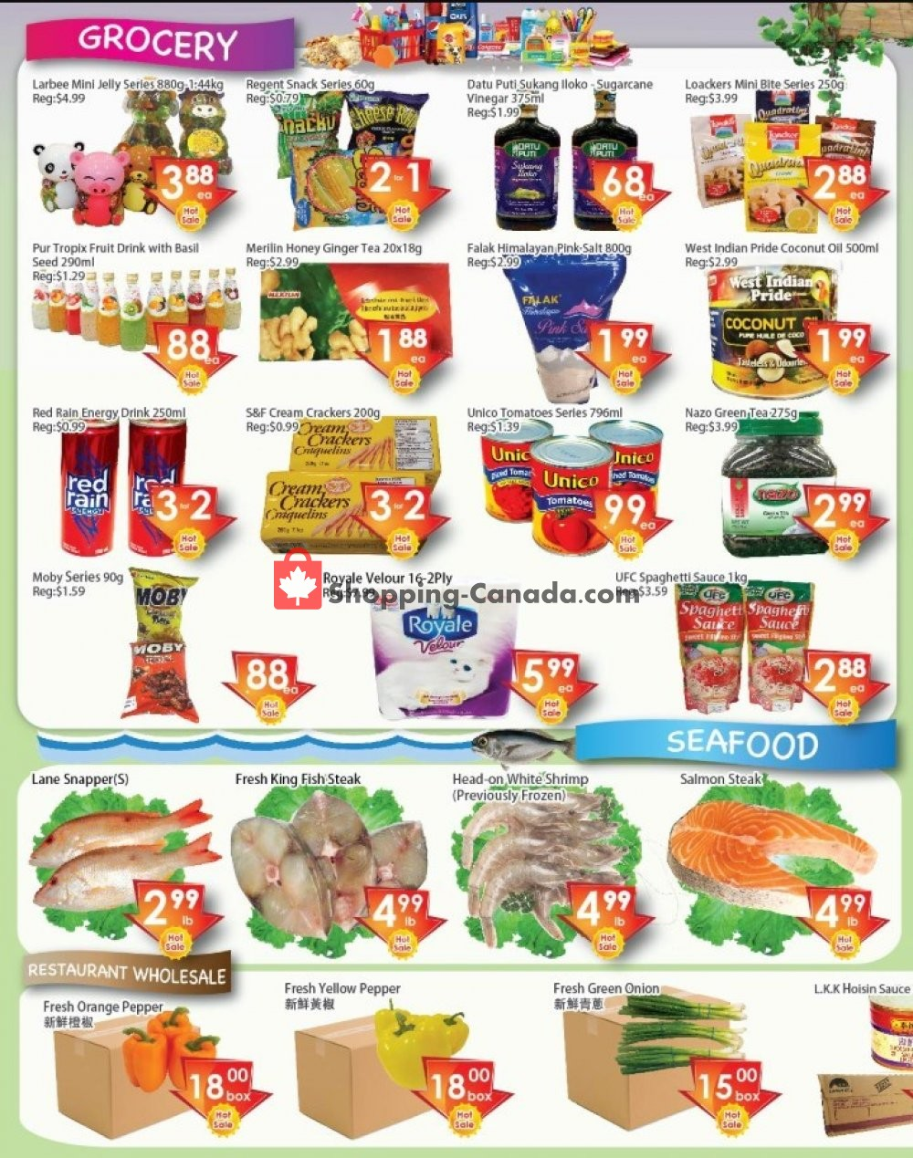 Flyer Ajax Foodmart Canada - from Friday August 9, 2019 to Thursday August 15, 2019