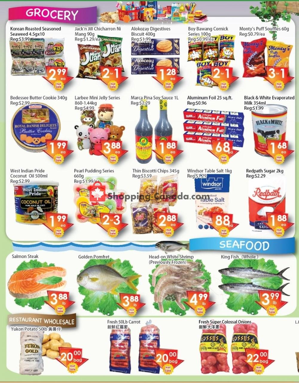 Flyer Ajax Foodmart Canada - from Friday January 10, 2020 to Thursday January 16, 2020
