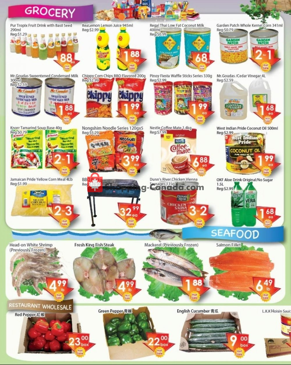 Flyer Ajax Foodmart Canada - from Friday July 12, 2019 to Thursday July 18, 2019