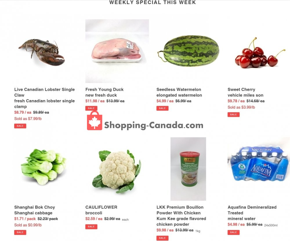 Flyer Al Premium Food Mart Canada - from Thursday July 23, 2020 to Wednesday July 29, 2020