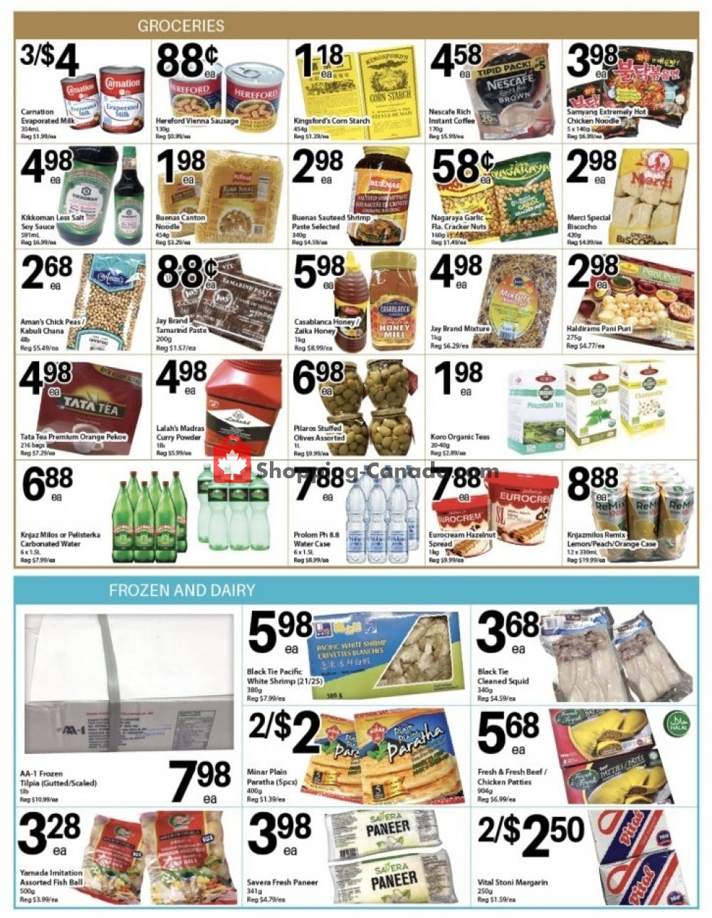 Flyer Al Premium Food Mart Canada - from Thursday January 9, 2020 to Wednesday January 15, 2020
