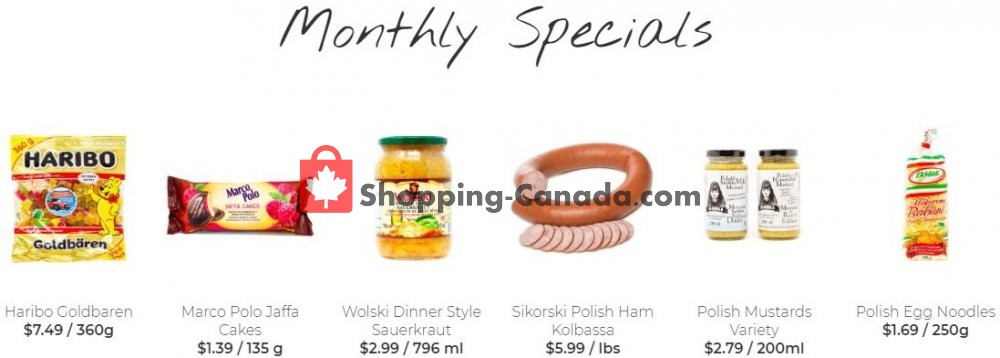 Flyer Alicia's Fine Foods Canada - from Wednesday April 1, 2020 to Wednesday May 13, 2020