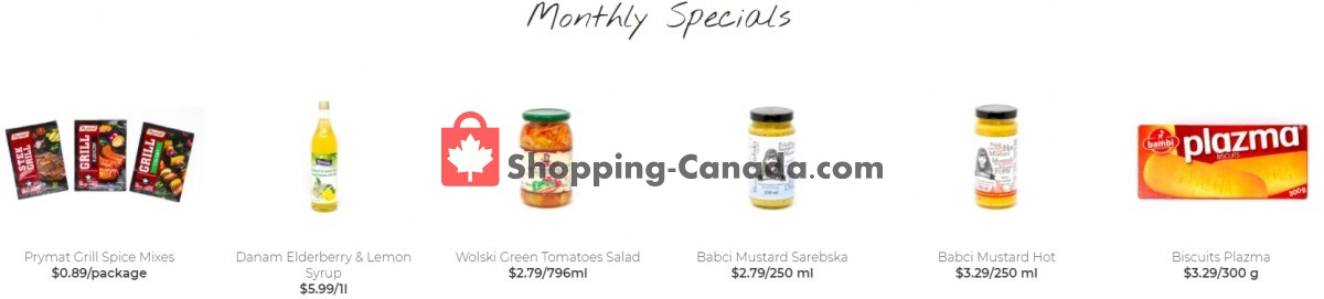 Flyer Alicia's Fine Foods Canada - from Wednesday April 28, 2021 to Monday May 31, 2021
